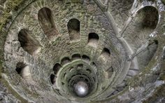 World's Beautiful Landscapes.: The Initiation Well   Quinta da Regaleira