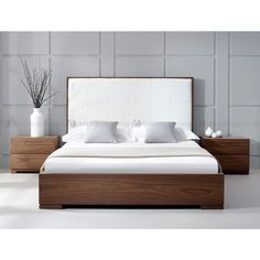 Luxury Bedding Sets For Less Bed Headboard Design, Bed Frame Design, Bed Frame And Headboard, Bedroom Bed Design, Bedroom Furniture Design, Modern Bedroom Design, Bed Furniture, Modern Bed Designs, Bed Back Design