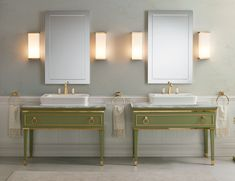 art deco bathroom vanity - Google Search