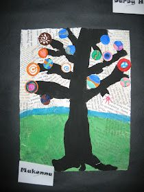 Autumn Display Classroom, Black Acrylic Paint, Old Book Pages, Art Lessons Elementary, Kandinsky, Art Club, Student Work, Art For Kids, Paint Colors