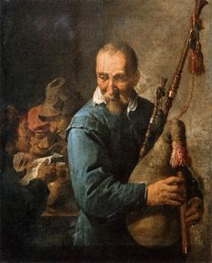 The Musette Player - David Teniers the Younger (1637)