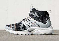 Pendleton Fabric Coming To The Nike Presto - SneakerNews.com
