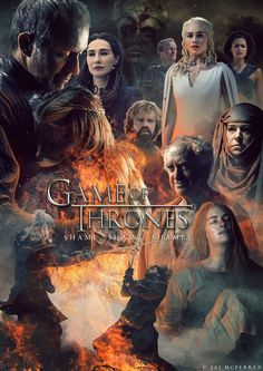 Game of Thrones Season 5 poster.