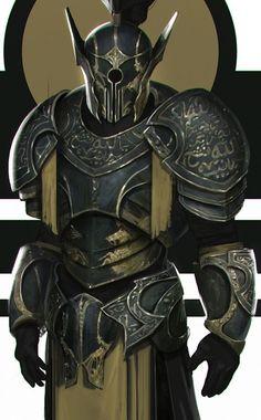 Scary dark knight / possibly Hellknight RPG character inspiration Fantasy Character Design, Character Design Inspiration, Character Concept, Character Art, Fantasy Armor, Medieval Fantasy, Dnd Characters, Fantasy Characters, Knight Art