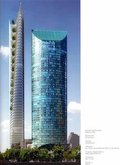 Reforma 509, 255m, 59 floors, Mexico City