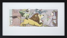 Queen's Room by Maurice Sendak Framed Art Print - Special Edition