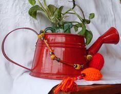 DIY - WATERING CAN Regadera colorada