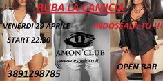 AMON CLUB PRIVE: RUBA LA CAMICIA