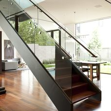 modern staircase by Workshop M Architecture