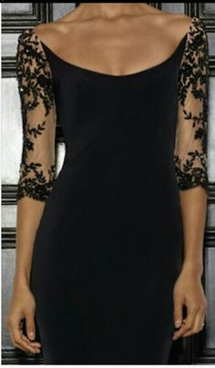 New party dress black shoes 25 Ideas Trendy Dresses, Elegant Dresses, Nice Dresses, Casual Dresses, Formal Dresses, Black Women Fashion, Look Fashion, Korean Fashion, Beautiful Gowns