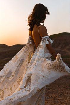 New Rue De Seine Wedding Dresses + Trunk Shows |a&bé bridal shop Bohemian Bride, Bohemian Wedding Dresses, Bridal Wedding Dresses, Bridal Style, Lace Wedding, Wedding Blog, Peacock Wedding, Wedding Rustic, Bohemian Fashion