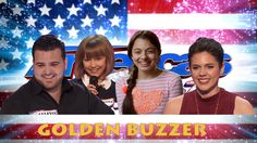 "Grace VanderWaal - A ukulele player gets the golden buzzer when she takes a risk and performs an original tune, ""I Don't Know My Name. Laura Bretan, America's Got Talent Videos, Sofie Dossi, Grace Vanderwaal, Simon Cowell, Buzzer, Great Videos, Kids Gifts"