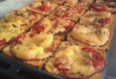 Meat Recipes, Mashed Potatoes, Cauliflower, Bacon, Paleo, Pizza, Vegan, Chicken, Vegetables