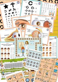 Teaching theme the eye Radios, Educational Games For Toddlers, Role Play Areas, Maths Area, Teaching Themes, Kindergarten Games, Beautiful Posters, Animal Games, Dramatic Play