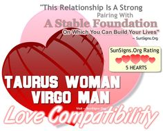 best dating a virgo man taurus woman love signs