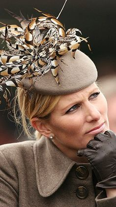 nemoreblogaboutroyals:  Zara Phillips at Cheltenham Races, Day 4, March 13, 2015