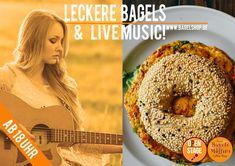 Lust auf #LiveMusic & leckere #Bagels? Dann ab ins Fresh Bagels & Muffins 😜🍔🎶🎵 Ab 18 Uhr geht's heute los!!!  #bagelshop  www.bagelshop.de
