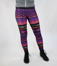 TopatoCo: Welcome to Night Vale Leggings (I am in love with these but don't think I could ever justify $55 on a pair of leggings.)