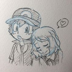 Pokemon XY Ash Ketchum and Serena Amourshipping Dormir Fingía Satosere Amor un Beso Sleeping was Pretending Amourshipping I Love You Kiss &lt. Ash Ketchum y Serena Dormir Amourshipping Pokemon Xy Ash, Pokemon Ash And Serena, Pikachu, Pokemon Ships, Pokemon Poster, Gym Leaders, Ash Ketchum, Kawaii, Anime Ships