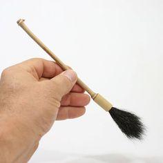 Bamboo, Skunk Tail Paint Brush, Paintbrush, Detail Brush