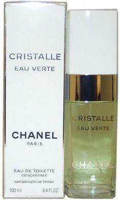 chanel - cristalle eau verte edt spray concentree 3.4 oz.