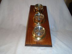 Vintage Barometer / Springfield Barometer / weather station / Weather…