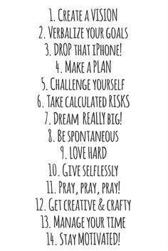 HOW TO: MAKE 2014 YOUR BEST YEAR YET! #motivation #study