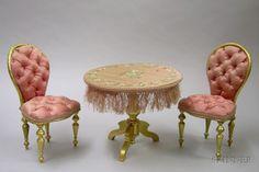 silver miniatures furniture - Google Search