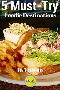 Tucson is becoming a food mecca, with innovative restaurants popping up around town. We've got 5 must-try foodie destinations in Tucson for you to taste Tucson Food, Tucson Arizona, Packing Tips For Travel, Budget Travel, Europe Packing, Traveling Europe, Backpacking Europe, Packing Lists, Travel Hacks
