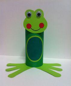 Kids Crafts, Frog Crafts, Summer Crafts For Kids, Cute Crafts, Toddler Crafts, Crafts To Do, Projects For Kids, Diy For Kids, Toilet Roll Craft