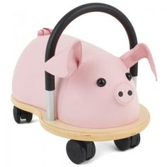 Hippychick Wheelybug Small Pig   AlexandAlexa