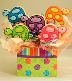 Turtle Baby Shower Theme Ideas | ... baby turtles simple and sweet a perfect centerpiece for your next baby