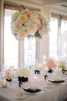 Lovely and elegant tablescape via Brooke Keegan {Newport Beach}