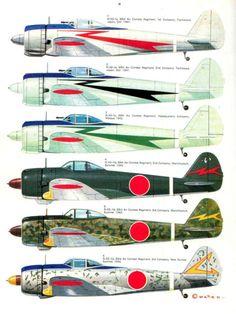 Nakajima-Ki-43-Hayabusa...el último esquema me gusta...será plateado el fondo???