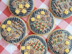 More for BBQ collection - Grill cookies