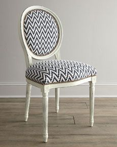 """H67WT Old Hickory Tannery """"Kuddos"""" Chevron Chair 
