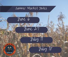 Noble Owl to be a fill-in vendor at the summer Oshkosh Farmers Market