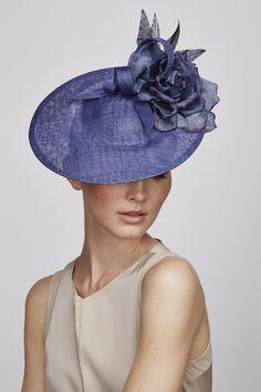 Feather & flower percher | Juliette Botterill Millinery SS 2014                                                                                                                                                                                 Más
