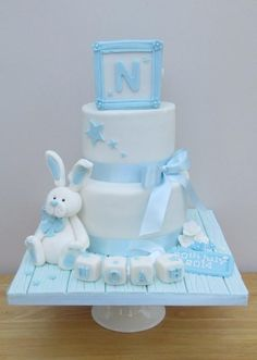 Christening Cake The Buttercream Pantry
