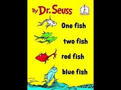 8 Love Lessons from Dr. Seuss by  Lyz Lenz, yourtango:   One Fish Two Fish Red Fish Blue Fish: The world is an interesting place. Have fun and explore it. You may even meet someone new! #Dr. Seuss #Lyz_Lenz #yourtango