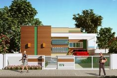 En esta entrada queremos recomendarles esta hermosa casa de una planta, que cuenta con un diseño moderno muy agradable que combina delicados revestimiento con colores y aberturas muy agradables. En[...]
