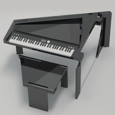 Fold you piano and spread music