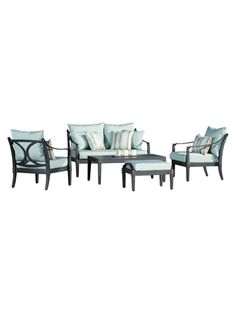 Astor Love and Club Deep Seating Set (5 PC)