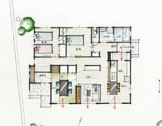 Floor Plans, How To Plan, Architecture, House, Houses, Arquitetura, Home, Architecture Design, Homes