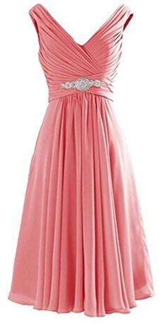 CaliaDress Women V Neck Ruffles Bridesmaid Dress Formal P... https://www.amazon.ca/dp/B01GC42RYY/ref=cm_sw_r_pi_dp_U_x_ot1.AbB7BYW53