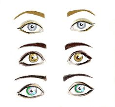 Annabeth Chase, Hazel Levesque, and Piper Mclean eyes.