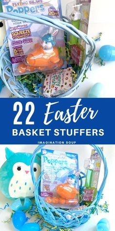Surprise your kids a little fun, playful, & creative Easter basket stuffer ideas like these! Cool Gifts For Kids, Easter Treats, Christmas Treats, Easter Baskets, Kids Meals, Great Recipes, Make It Simple, Best Gifts, Creative