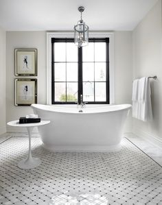 Dear Santa, I want this home for Christmas Paint color is Benjamin Moore Edgecomb gray Grey Bathrooms, Bathroom Renos, Beautiful Bathrooms, Bathroom Ideas, Bathroom Table, Bathroom Gray, Concrete Bathroom, Bronze Bathroom, Luxury Bathrooms