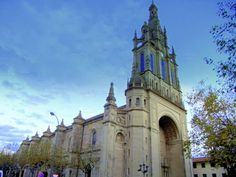 The Basilica de Begoña Bilbao, Spain, dedicated to the patron saint of Biscay, the Virgin Begoña. Marian shrine dedicated to the apparitions of Our Lady. Begonia, Basque Country, Our Lady, Pilgrimage, The Locals, Notre Dame, Barcelona Cathedral, The Good Place, Catholic