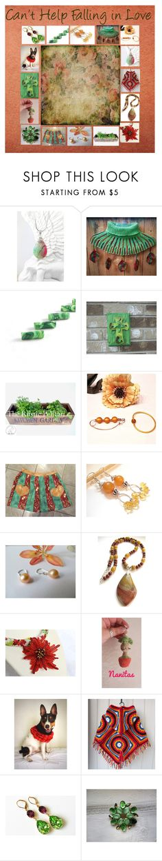 """""""Can't Help Falling in Love: Handmade Gift Ideas"""" by paulinemcewen on Polyvore featuring rustic, vintage and country"""